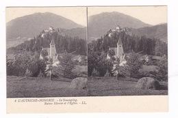 Belle CPA Stéréoscopique « L'Autriche-Hongrie », Col Du Sommering (Autriche), Ruines Klamm Et église, N°6 - Neunkirchen