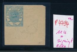 Dänemark  Nr.  11 U Bogen Ecke * (p4794  ) Aus Einer Spezial Sammlung ! - 1864-04 (Christian IX)