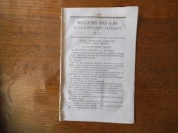 BULLETIN DES LOIS DE LA REPUBLIQUE FRANCAISE N° 5 DU 6 MARS 1848 GOUVERNEMENT PROVISOIRE 8 PAGES - Décrets & Lois