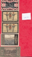 Allemagne 9 Notgeld Dans L 'état  (PORT GRATUIT POUR LA FRANCE) Lot N °5 - [ 3] 1918-1933 : Weimar Republic