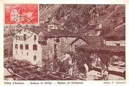 ANDORRE- -VALLE D'ANDORRE DE VIEILLE- MAISON DU PARLEMENT - Andorra