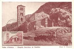 ANDORRE- -VALLE D'ANDORRE CHAPELLE SAINT-JEAN DE CASELLAS - Andorra