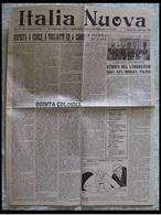 ITALIA NUOVA (Settimanale Della Federazione Fascista Repubblicana Di Venezia) - 8 Aprile 1945 - Riviste & Giornali