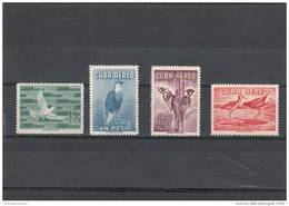 Cuba Nº A202 Al A202C - Poste Aérienne