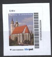 Biber Post  Magdeburg St.-Johannes-Kirche (48)  G728 - [7] République Fédérale