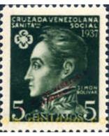 Ref. 175337 * MNH * - VENEZUELA. 1937. CRUZ ROJA SEMANA DE LOS NIÑOS - Croix-Rouge