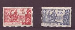 Guadeloupe N 140-141** - Neufs