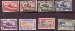 ⭐ Dahomey - Poste Aérienne - YT N° 10 à 17 ** - Neuf Sans Charnière - 1942 ⭐ - Unused Stamps