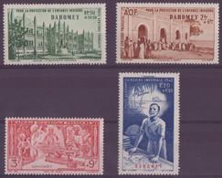 ⭐ Dahomey - Poste Aérienne - YT N° 6 à 9 ** - Neuf Sans Charnière - 1942 ⭐ - Ungebraucht