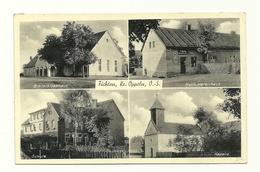 AK Fichten - Kreis Oppeln - Schlesien - Mehrbild - Postablage - Pologne