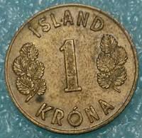 Iceland 1 Krona, 1959 - Iceland