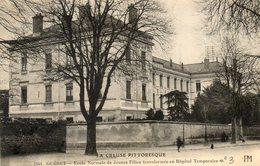 CPA - GUERET (23) - Aspect De L'Hôpital Auxiliaire, Complémentaire, Temporaire N° 3 Pendant La Guerre 1914 / 18 - Guéret