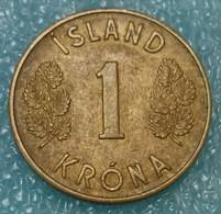 Iceland 1 Krona, 1946 - Islande