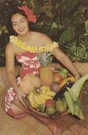 HAWAIIAN FRUITS AND VEGETABLES  VG AUTENTICA 100% - Cartoline