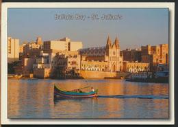 °°° 11403 - MALTA - ST. JULIAN'S - BALLUTA BAY - 2004 With Stamps °°° - Malta