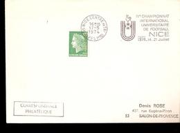 IV Championat International Universitaire De Footbal Nice 1974 - Calcio