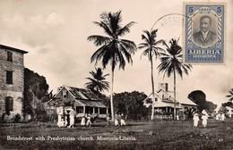 Broadstreet With Presbyterian Church. Monrovia-Liberia - Liberia