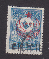 Cilica, Scott #23, Used, Turkish Stamp Overprinted, Issued 1919 - Cilicie (1919-1921)