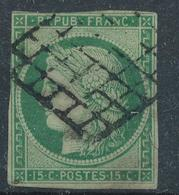 N°2 GRILLE 1849 - 1849-1850 Ceres