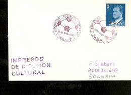 Exposicion Filatelica Deportiva Zaragoza 1980 - Calcio