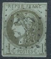 N°39 NUANCE ET OBLITERATION - 1870 Bordeaux Printing