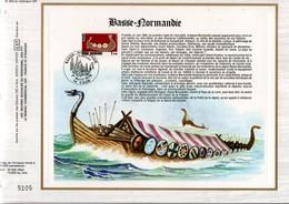 1978 DOCUMENT FDC REGION BASSE NORMANDIE - Documents De La Poste