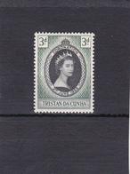 Tristan Da Cunha Neuf * 1953  N° 13   Couronnement D'Elisabeth II - Tristan Da Cunha