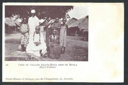 +++ CPA - Kenya - Chef Du Village SANCTA MARIA Près De MPALA - Haut Congo - Pères Blancs    // - Kenya