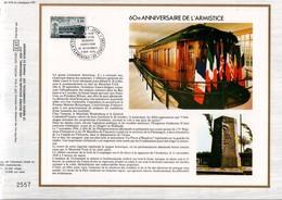 1978 DOCUMENT FDC 60 ANS ARMISTICE DE 1918 - Documents De La Poste