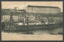 France. Brest. IUD. Base Of The Fleet. Warships. Battleship. Barracks. 1 - Oorlog