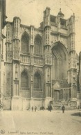 Louvain 1923; Eglise Saint-Pierre. Portail Ouest - Voyagé. (Nels) - Leuven