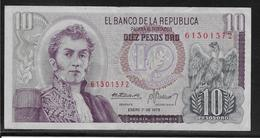 Colombie - 10 Pesos  - Pick N° 407 - TTB - Colombie