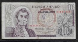 Colombie - 10 Pesos  - Pick N° 407 - TB - Colombie
