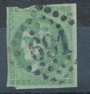 N°42 NUANCE ET OBLITERATION - 1870 Bordeaux Printing