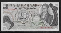 Colombie - 20 Pesos  - Pick N° 409 - SUP - Colombie