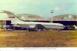 Oman Government Vickers VC 10 At Heathrow Airport - 1946-....: Era Moderna