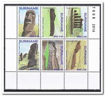 Suriname 2016, Postfris MNH, POLYNESIAN CULTURE - Suriname