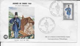 25.- PONT-DE-ROIDE  - 1968 Journée Du Timbre - 1960-1969