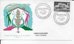 80.- VILLERS BRETONNEUX .- Maison Des Jeunes Et De La Culture  1965 - 1960-1969