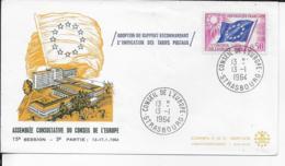 67.- STRASBOURG  1964 Conseil De L' Europe - 1960-1969
