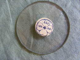 Verre Bombé De Montre à Gousset, Légèrement Bombé Diamètre 5,11 / 28 / 24 - Jewels & Clocks