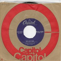 """Frank Sinatra 45t. SP ANGLETERRE """"you'll Get Yours"""" - Other - English Music"""