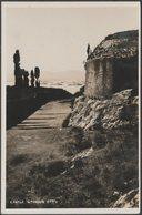 Castle Grounds, Corfu, C.1920s - Agfa RP Postcard - Greece