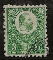 Hongrie 1871 N°Y.T. : 8 Obl. - Ungheria
