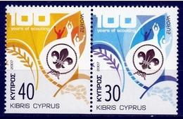 Cyprus  Europa Cept 2007 Type Du  Paar Postfris M.n.h. - Europa-CEPT