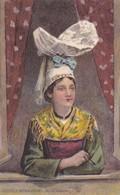 Postcard Coiffes Normandes Le Cotentin Folklore Costume My Ref  B12414 - Costumes