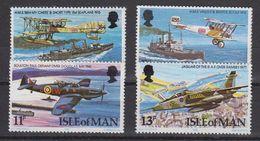 Isle Of Man 1978 Royal Air Force 4v ** Mnh (40294A) - Man (Ile De)