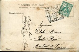 37413 Italia, Circuled Card 1910 With Special Postmark Milano Esposizione, Milan Exhibition - Other