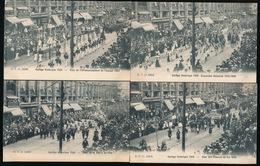 BRUXELLES 16 KAARTEN   CORTEGE HISTORIQUE 1905  - ZIE MEERDERE AFBEELDINGEN - Fêtes, événements
