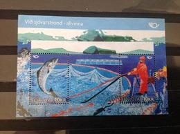 Faeröer / Faroes - Sheet Leven Aan De Kust (20) 2010 - Faeroër